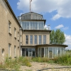 Abfertigungsgebäude mit Tower Flughafen Leipzig-Mockau