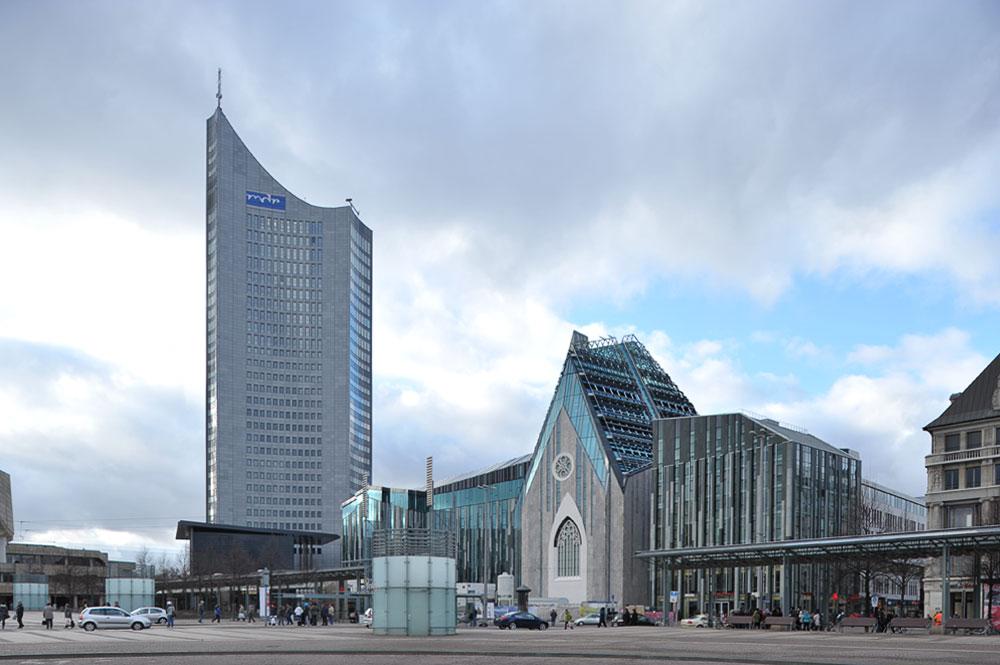 Architekturfotografie aus Leipzig » Augustusplatz Leipzig