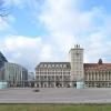 Augustusplatz Leipzig - Paulinum und Krochhochaus